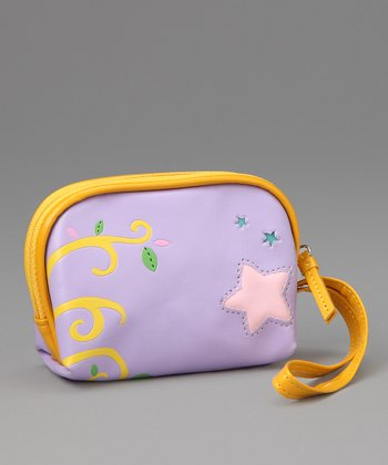 Purple Starry Coin Purse