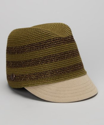 Green Stripe Hat