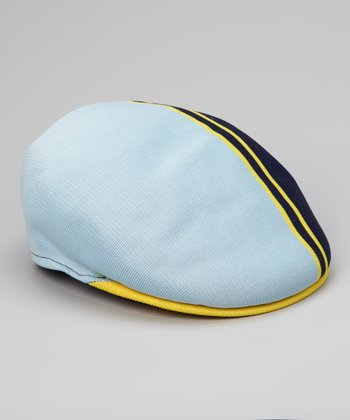 Navy Ball Stripe Ivy Cap