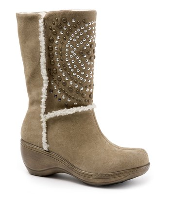 SoftWalk Sand Suede Stud Manistee Boot