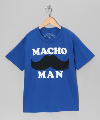 Royal 'Macho Man' Tee - Boys