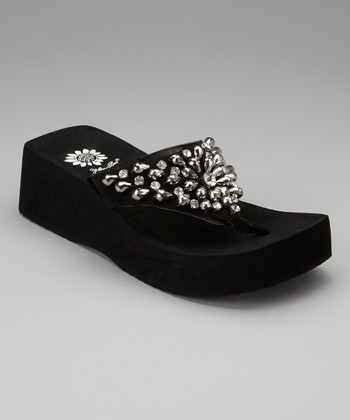 Black Alaine Sandal - Women