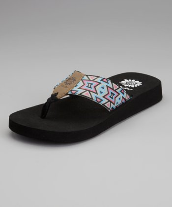 Black Hampton Flip-Flop - Women