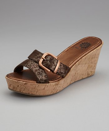 Cheetah Monrovia Wedge Sandal