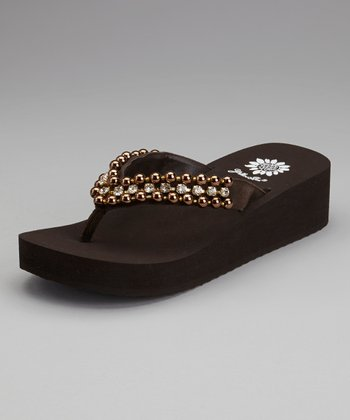 Brown Pearla Sandal - Women