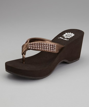 Bronze Sherry Sandal