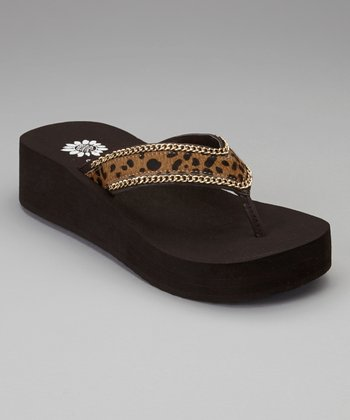 Cheetah Wilda Flip-Flop