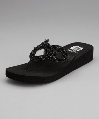 Black Yoma Sandal - Women