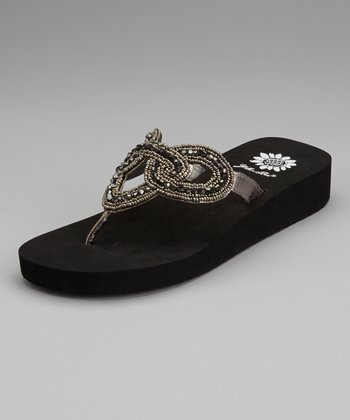 Pewter Yoma Sandal - Women