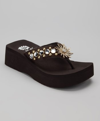 Brown Alvita Sandal
