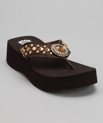 Brown Shalini Sandal
