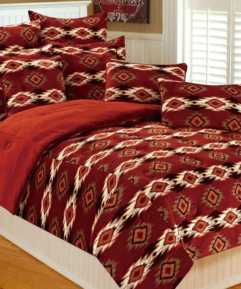 Earth Paco Microplush Bedding Set
