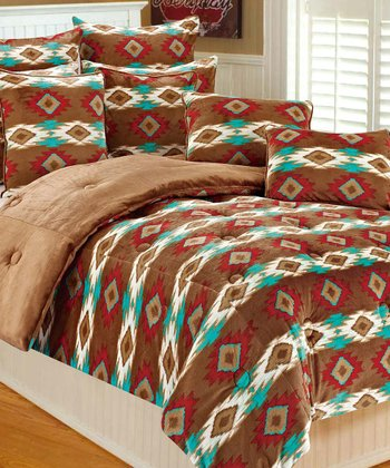 Tucson Paco Microplush Bedding Set