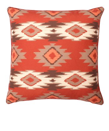 Earth Paco Square Throw Pillow