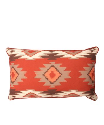 Earth Paco Rectangular Throw Pillow