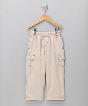 Stone Micro Twill Cargo Pants - Infant, Toddler & Boys