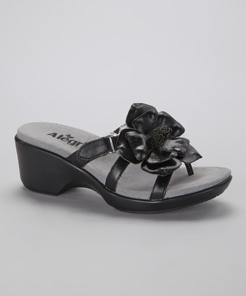Black Hula Sandal - Women