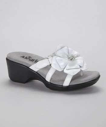White Hula Sandal - Women