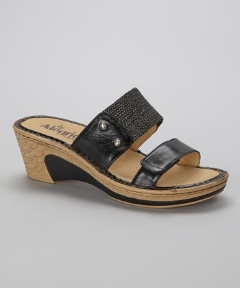 Black Lana Sandal - Women