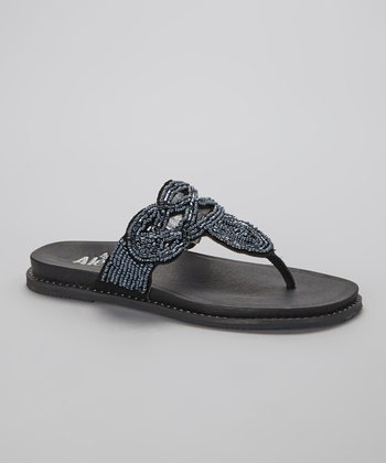Black Tangoh Sandal - Women