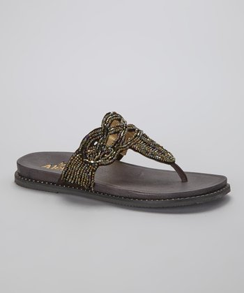 Dark Brown Tangoh Sandal - Women