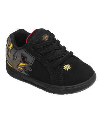 Black & Red Court Graffik Sneaker
