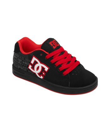 Black & Red Character Sneaker
