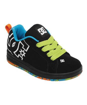 Black Splatter Court Graffik SE Sneaker