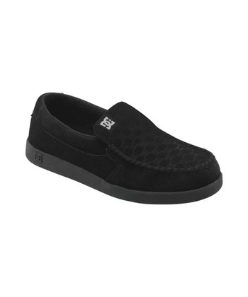 Black Villain Slip-On Shoe