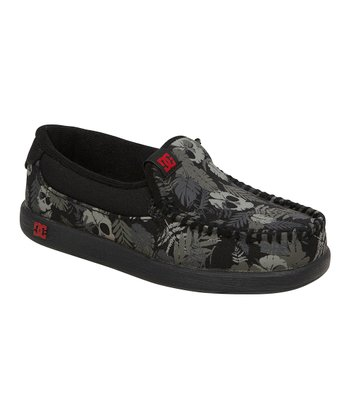 Black Camo Villain TX Loafer
