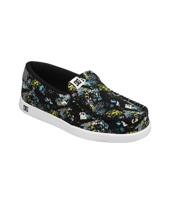 Black & Blue Villain TX Slip-On Shoe