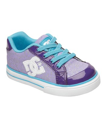 Purple & White Chelsea Sneaker
