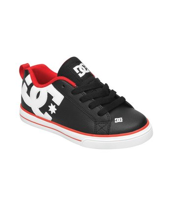 Black & White Court Graffik Vulcanized Shoe