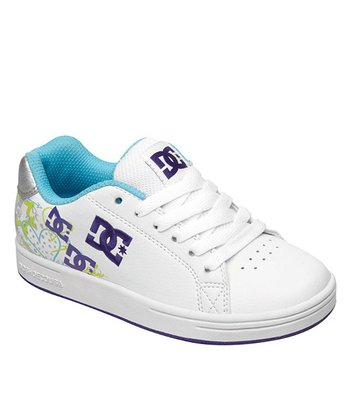 Purple & Soft Lime Pixie Squiggle Sneaker