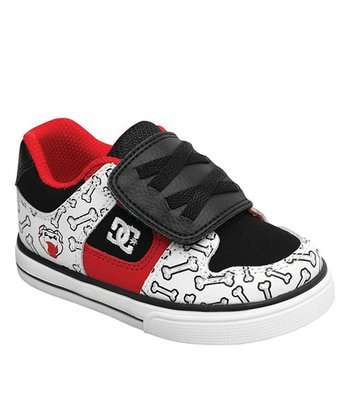 Red & Black Pure V Wild Grinders Sneaker