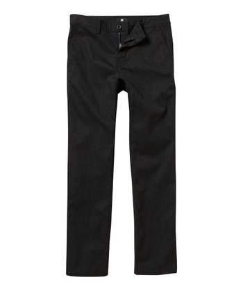 Navy Chino Pants - Boys