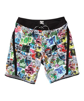 Black Venice Boardshorts - Boys