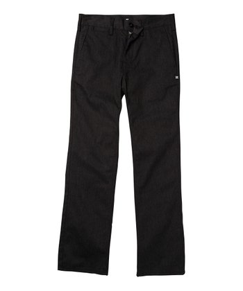 Black Work Skinny Pants - Boys