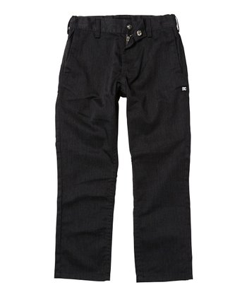 Heather Dark Shadow Work Pants - Toddler & Boys