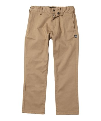 Khaki Work Pants - Toddler & Boys