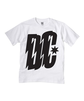 White Electronica Tee - Toddler & Boys