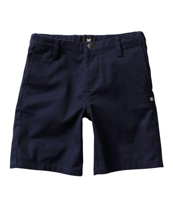 Navy Chino Shorts - Boys