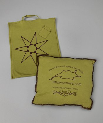 Moss Organic Pillow Bag