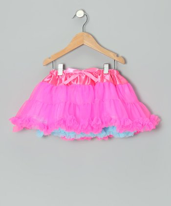 Bright Pink Reversible Pettiskirt