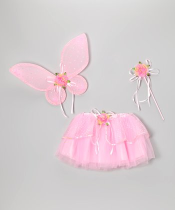 Pink Fairy Skirt Set