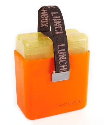Orange Deluxe Lunch Box
