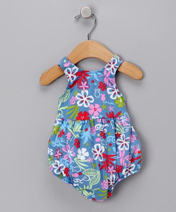 Blue Lagoon Bubble One-Piece Swimsuit - Infant