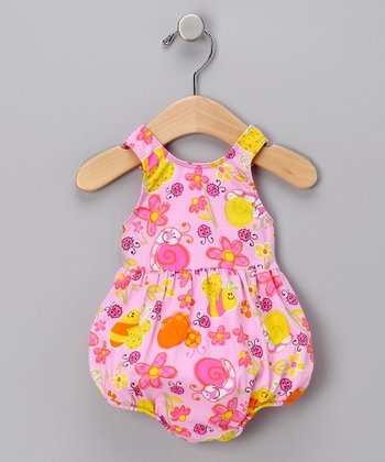 Bees & Bugs Bubble One-Piece Swimsuit - Infant