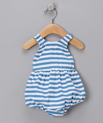 Sailor Stripe Bubble One-Piece Swimsuit - Infant