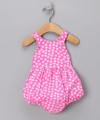 Tickled Pink Bubble One-Piece Swimsuit - Infant